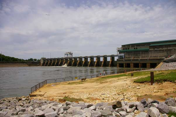 Image result for Jim Woodruff Dam
