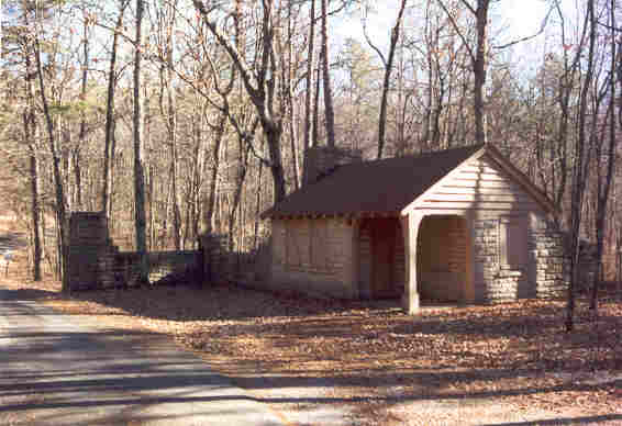 We Think They Should Make This Gatehouse One Of The Rental Cabins. The Road  Does See A Little Traffic, But Not Very Much. This Road Goes To The  Primitive ...